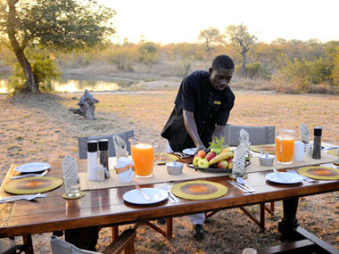 Breakfast Timbavati Kambaku Safari Lodge Timbavati Game Reserve South Africa