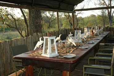 Meals dining Shindzela Tented Camp Timbavati Game Reserve South Africa