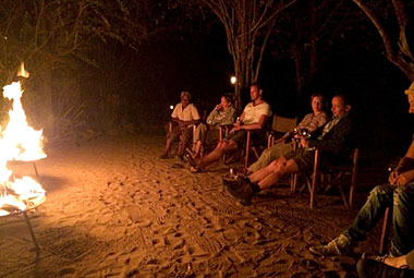 Umlani Bushcamp Brazier Fire Timbavati Game Reserve Accommodation Safari Bookings