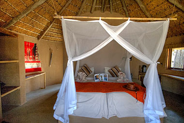 Inside Rondavel Hut Umlani Bushcamp Timbavati Game Reserve Accommodation Safari Bookings