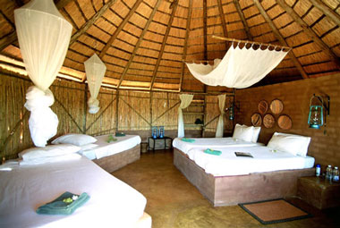 Umlani Bushcamp Family Rondavel Hut Timbavati Game Reserve Accommodation Safari Bookings