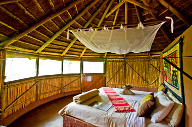 Umlani Bushcamp Rondavel Hut Timbavati Game Reserve Accommodation Safari Bookings