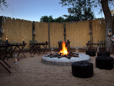 Boma Dinner Waterbuck Private Camp Kings Camp Timbavati Game Reserve Accommodation Booking