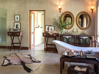 Luxury Accommodation Bathroom Garden Suite Waterbuck Private Camp Kings Camp Timbavati Game Reserve Accommodation Booking