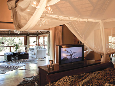 Master Suite Bedroom Lounge Waterbuck Private Camp Kings Camp Timbavati Game Reserve Accommodation Booking