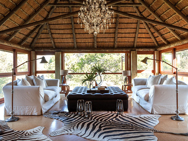 Five Star Accommodation Bookings Master Suite Lounge Waterbuck Private Camp Kings Camp Timbavati Private Game Reserve Timbavati Reservations Private Game Lodge